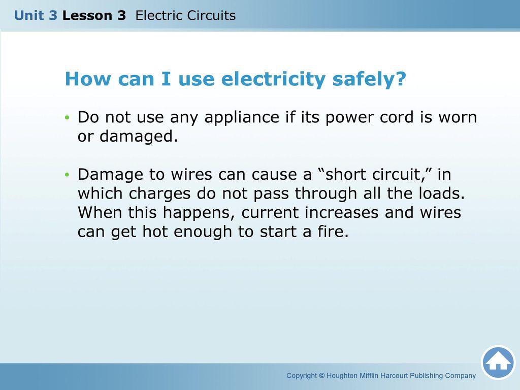 Unit 3 Lesson Electric Circuits Ppt Video Online Download Short Circuit Appliances 16 How