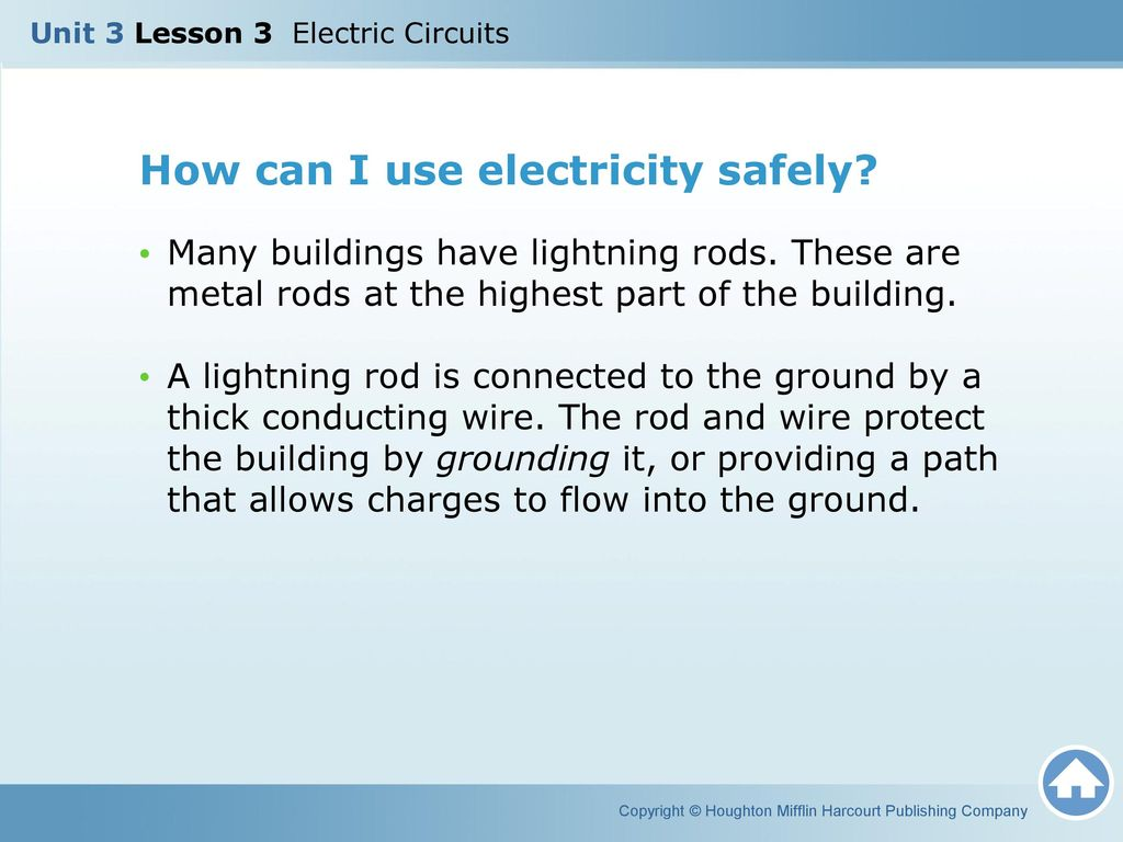 Unit 3 Lesson Electric Circuits Ppt Video Online Download Circuit Is Path That Allows Electricity To Flow Through How Can I Use Safely