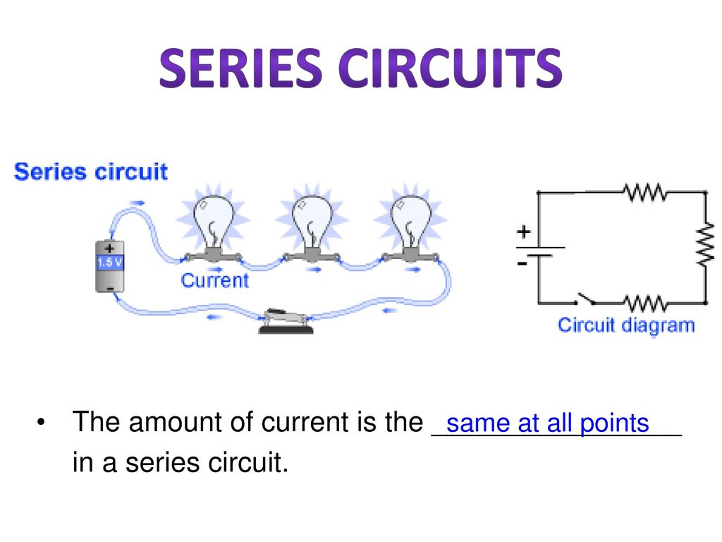 Notes Electric Circuits Ppt Download Series Circuit Diagram 30