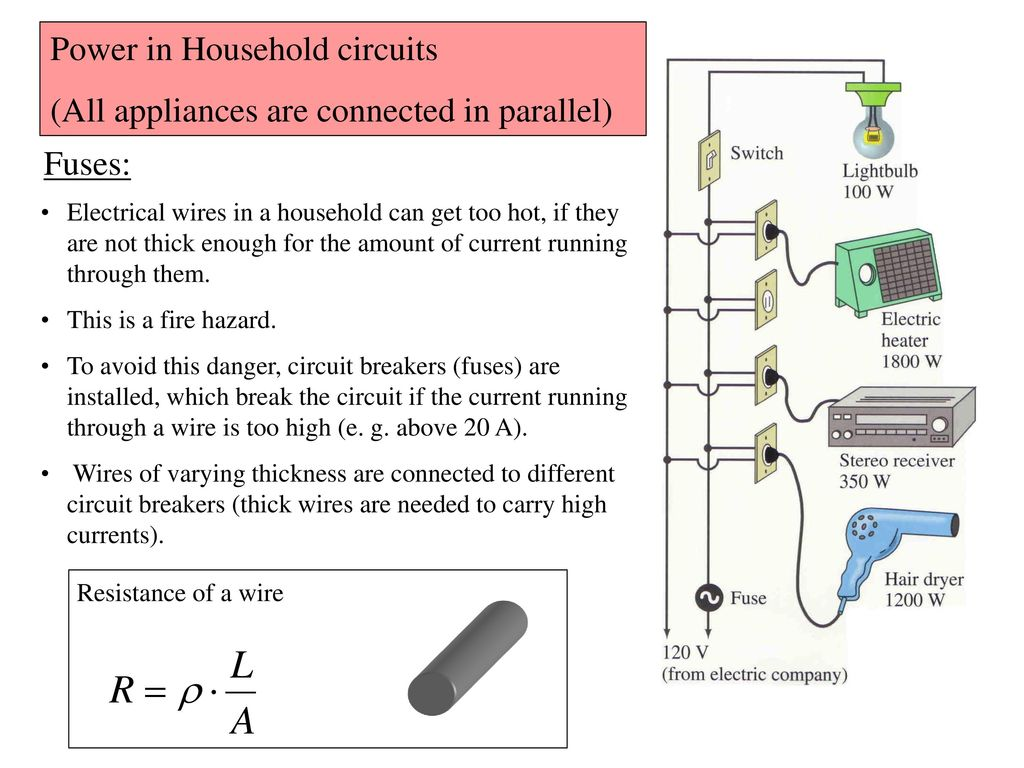 Direct Current Dc Circuits Ppt Download Parallel Home Electrical Wiring Basics 19 Power