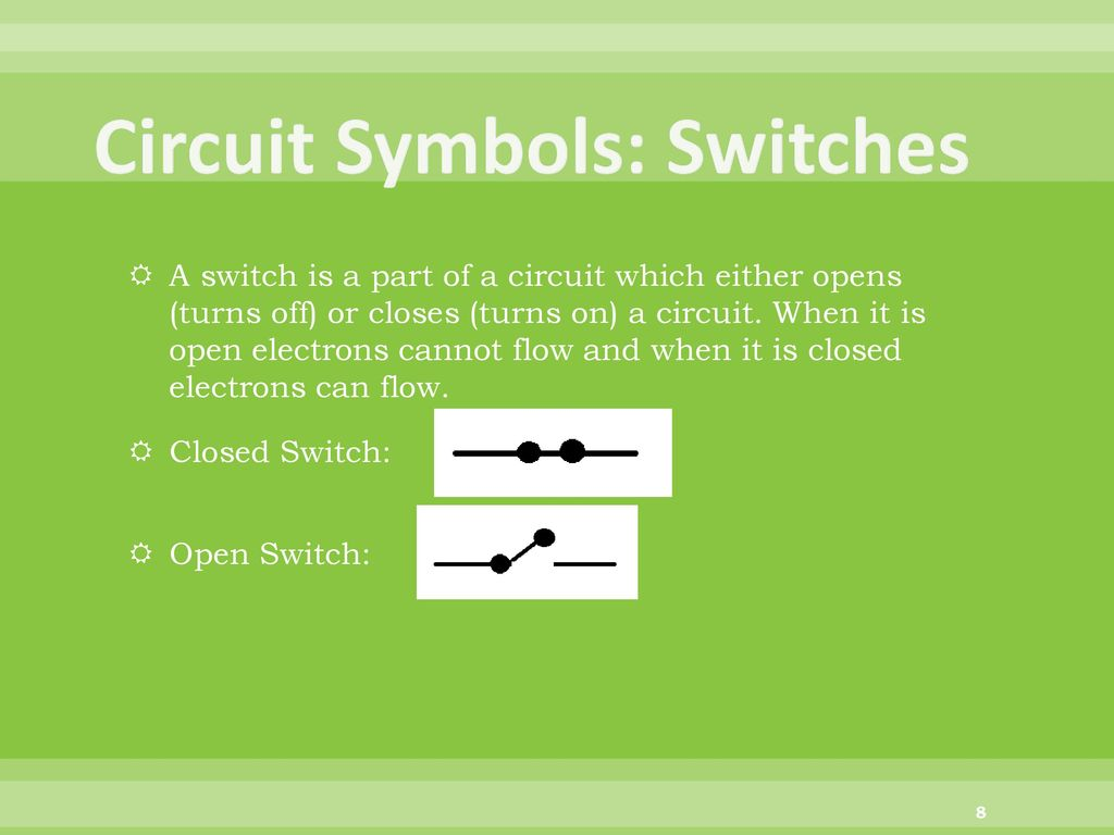 Electric Switch Symbol Open Circuit With Electrical Symbols On Off Dolgularcom Symbolsa Switches