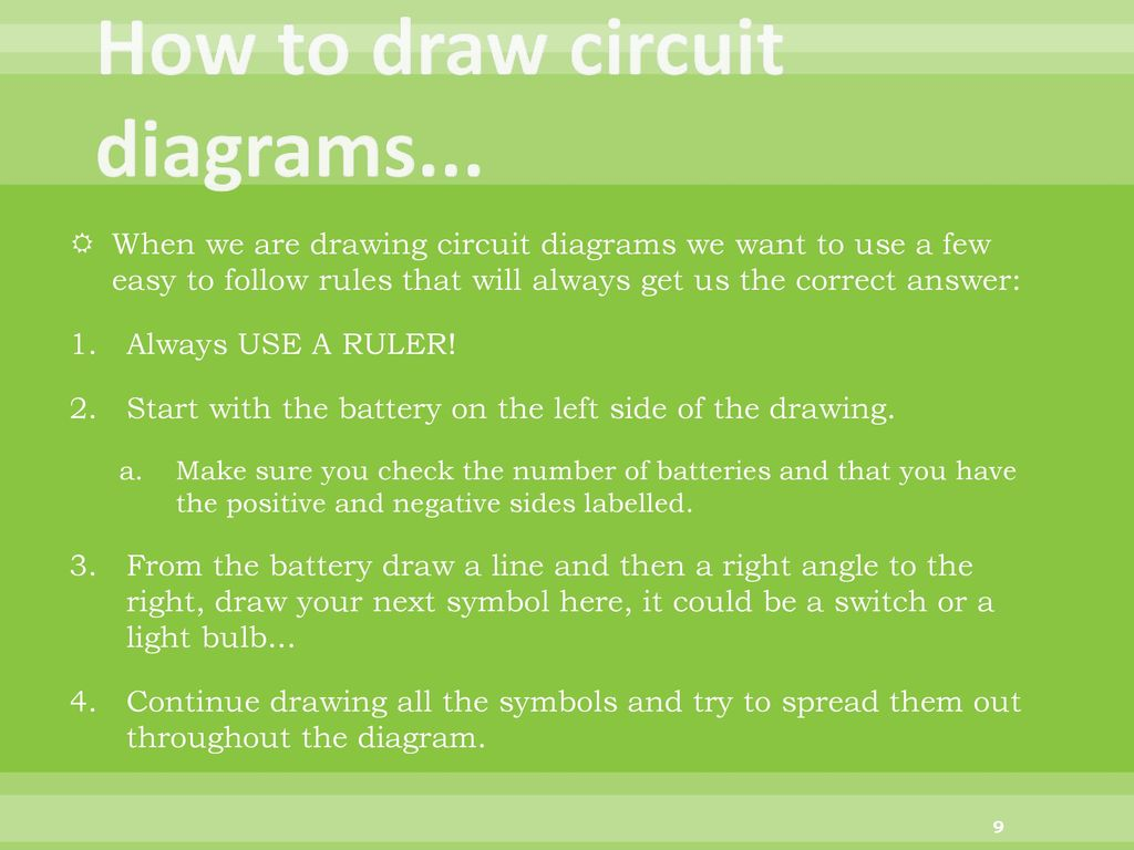 Electric Circuits Snc1p1 Findlay Ppt Download Circuit Diagram Positive Negative How To Draw Diagrams