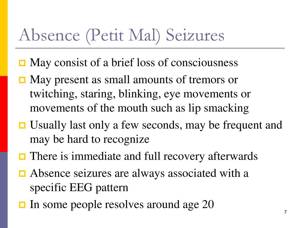 pictures How to Recognize a Petit Mal Seizure