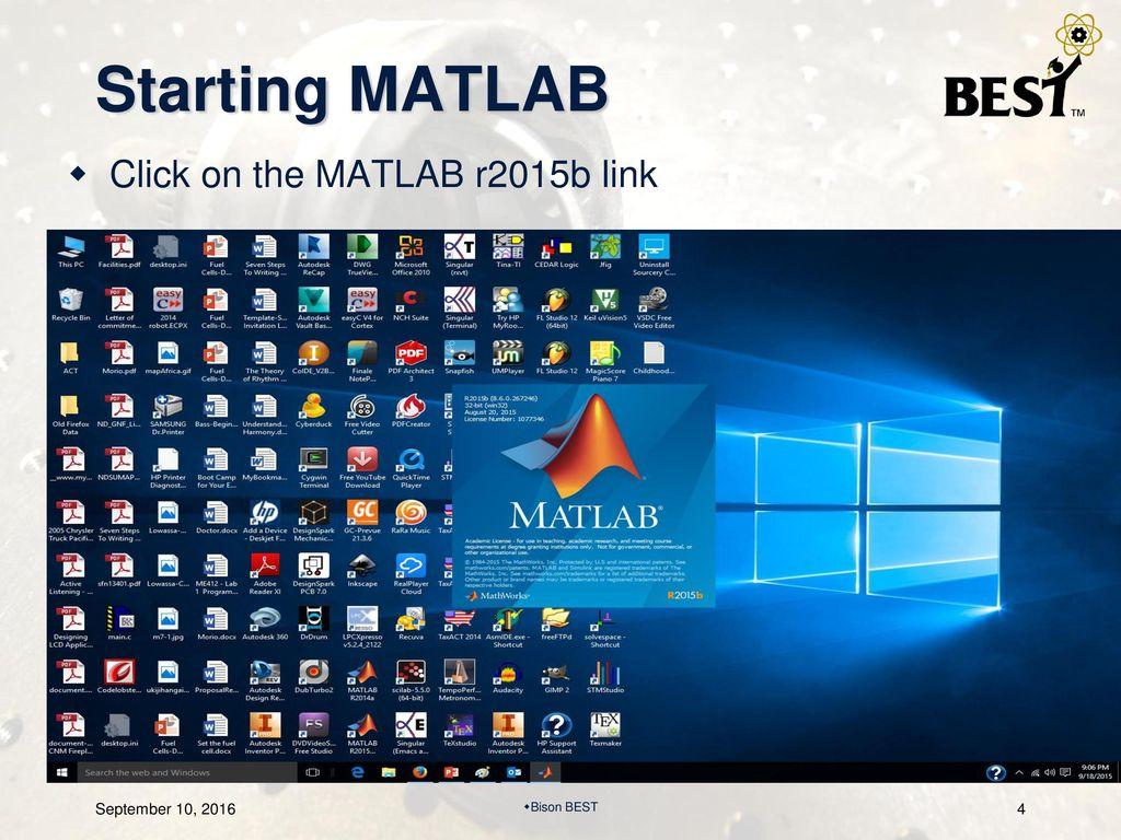 BEST Robotic, Inc  MATLAB/Simulink Team Training - ppt download