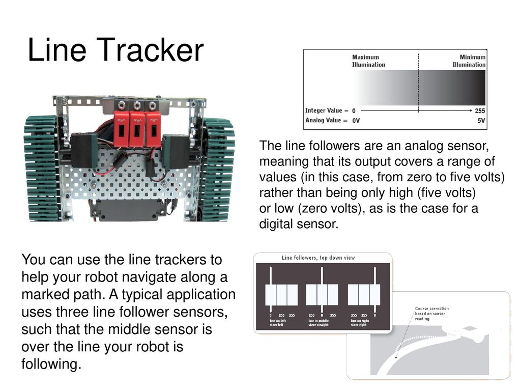 Electrical Engineer Responsibilities Ppt Download The Line Follower Sensor And Its Circuitry 13 Presentation
