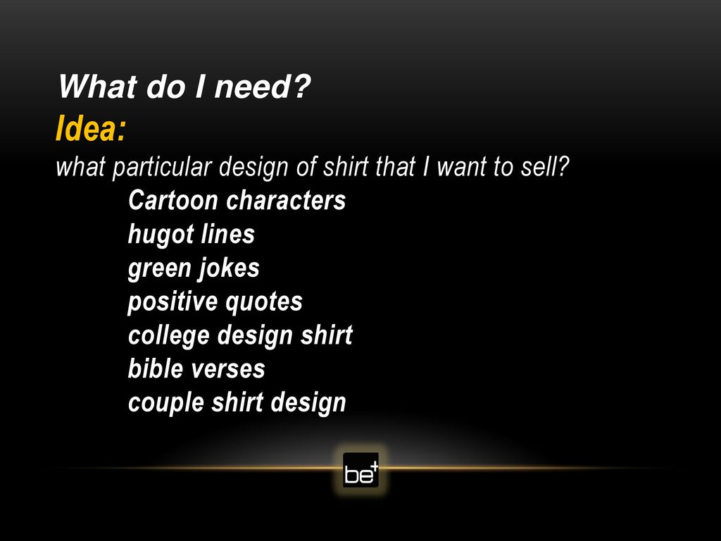 Digital Shirt Printing Business - ppt download