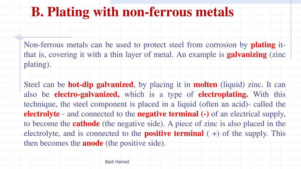 Unit 13: Non-ferrous metals Dr - ppt download