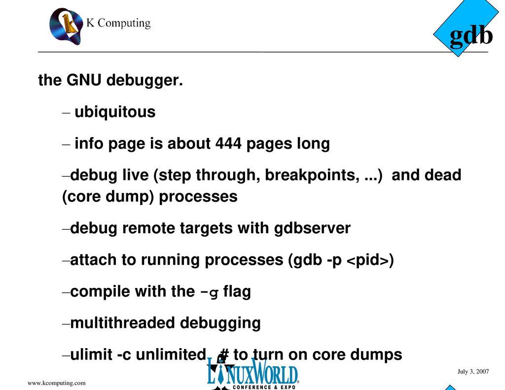 Linux Development Tools - ppt download