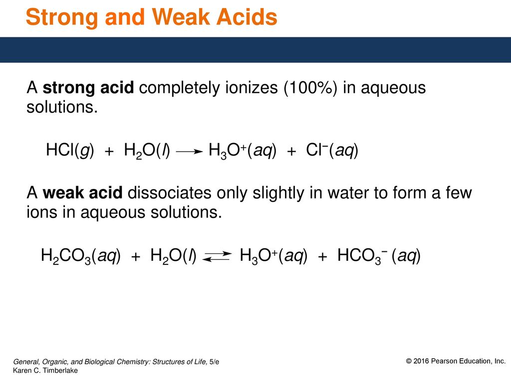 113 Strengths Of Acids And Bases Ppt Download Strong Acid 2