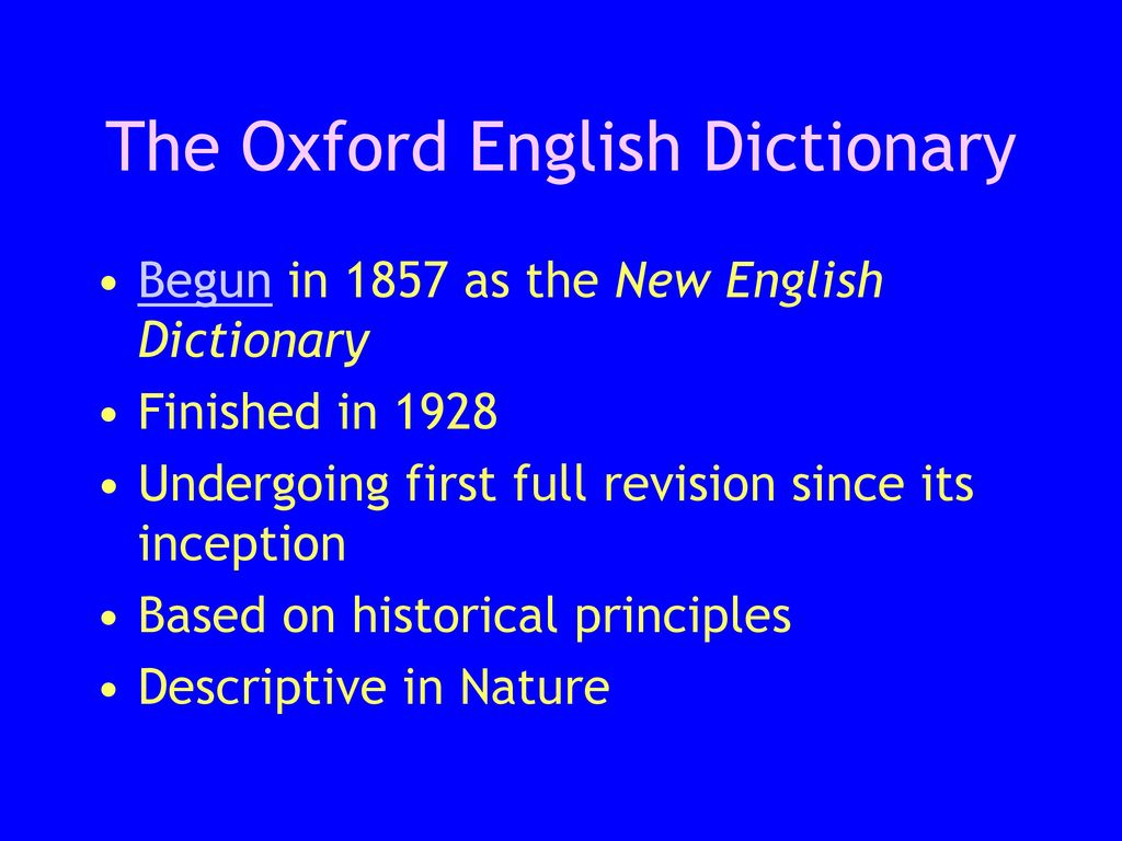 Dictionaries, Linguistic Attitudes, and Usage - ppt download