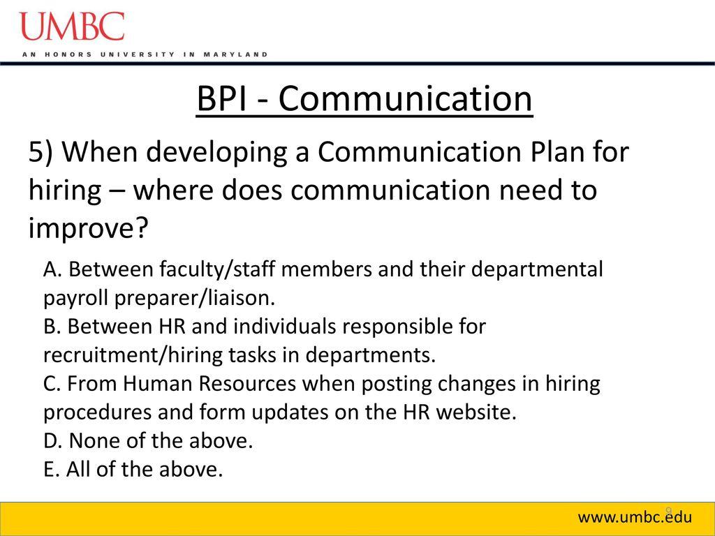 BUSINESS PROCESS IMPROVEMENT BPI SHARED SERVICES CENTER SSC