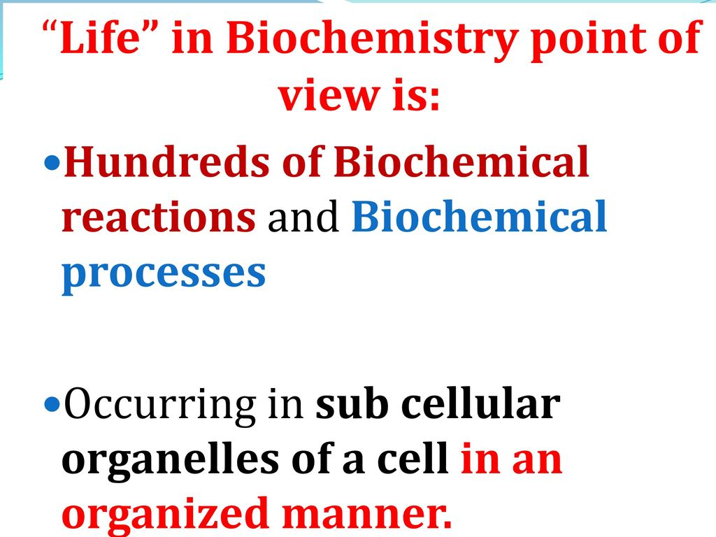 INTRODUCTION TO BIOCHEMISTRY - ppt video online download