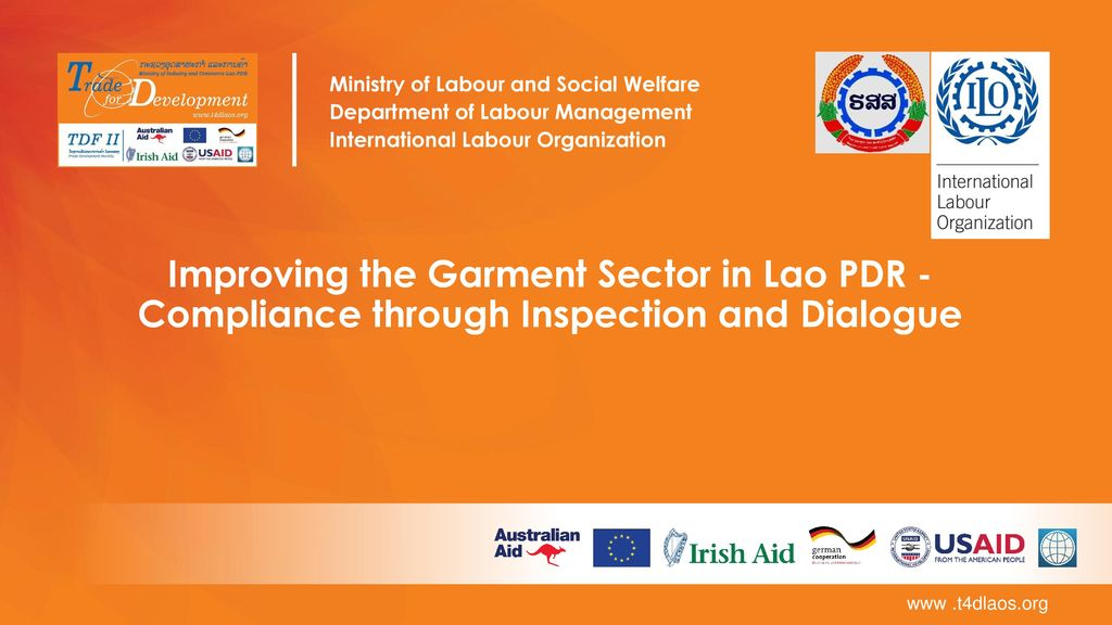 Ministry of Labour and Social Welfare - ppt download