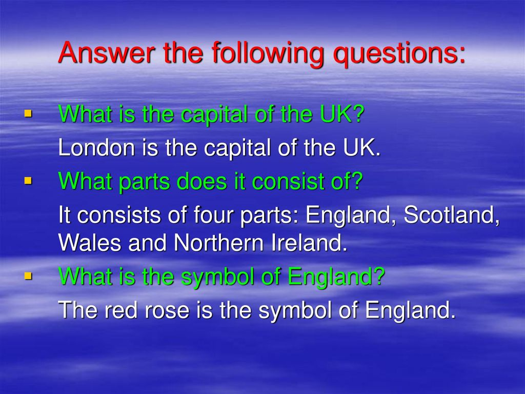 Unit 4 Learning More About London Ppt Download