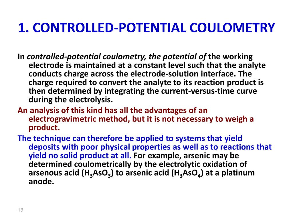 CONTROLLED POTENTIAL COULOMETRY PDF DOWNLOAD