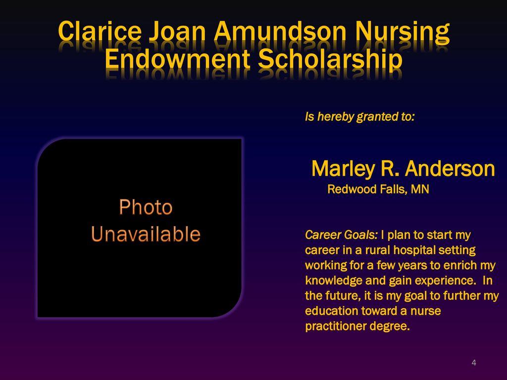 Minnesota State University – Mankato The 2007 Scholarship
