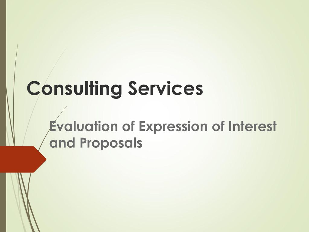 Evaluation of expression of interest and proposals ppt download evaluation of expression of interest and proposals altavistaventures Choice Image