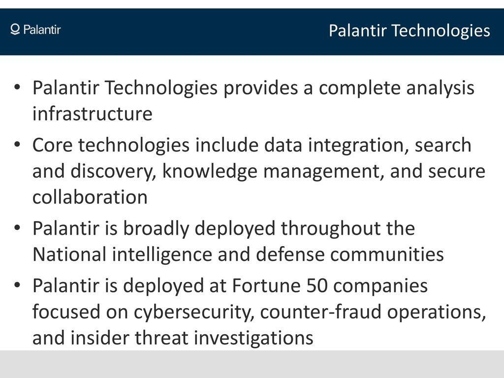 The WikiLeaks Threat An Overview by Palantir Technologies