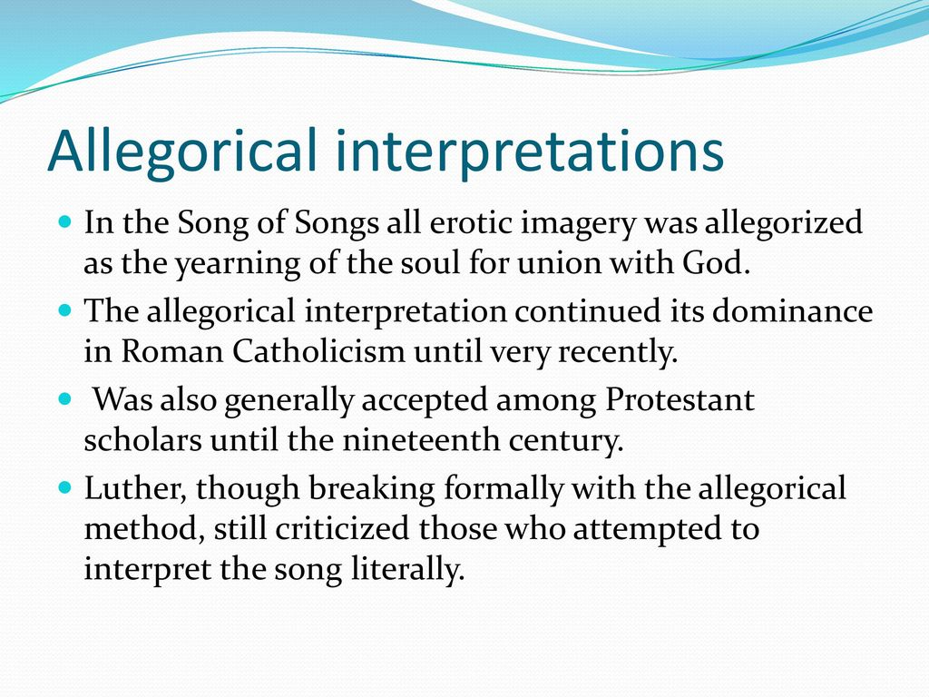 The Song of Songs  - ppt download