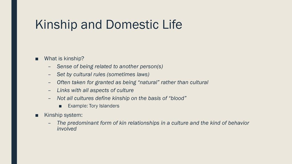 what is kinship anthropology ppt download