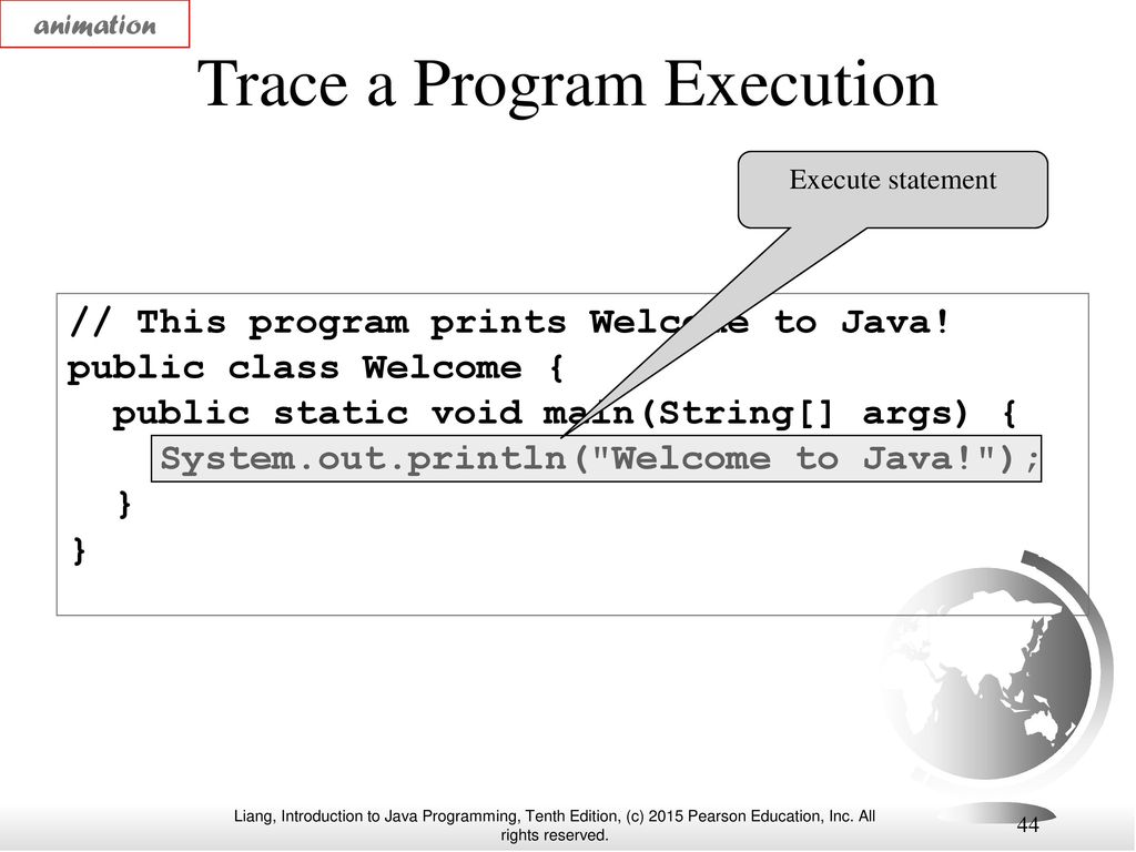 Chapter 1 Introduction To Computers Programs And Java Ppt Download Logic Diagram 44 Trace A Program Execution