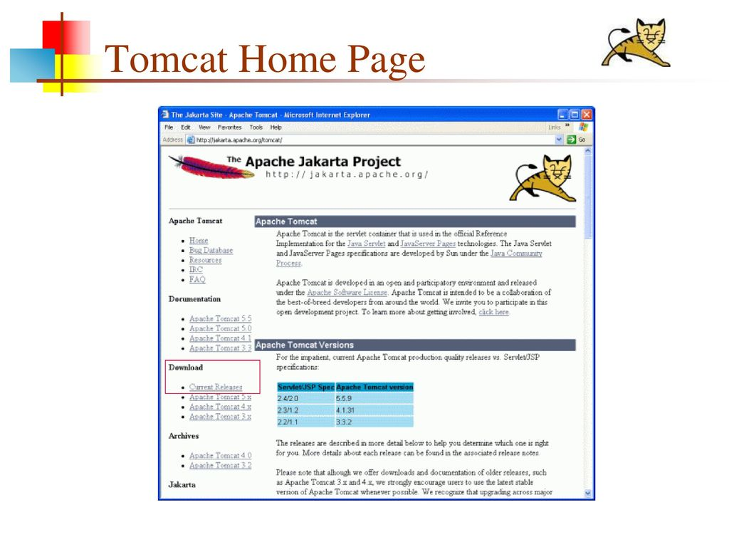 APACHE TOMCAT WEB SERVER - ppt download