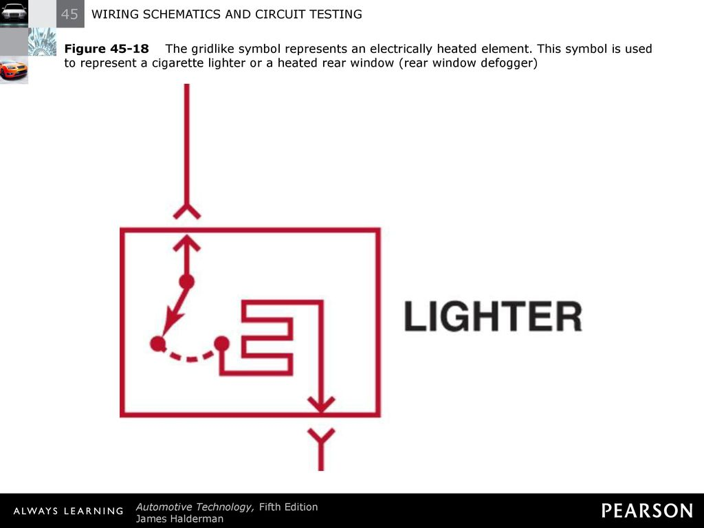 WIRING SCHEMATICS AND CIRCUIT TESTING - ppt download on fuse for cigarette lighter, plug for cigarette lighter, heater for cigarette lighter, accessories for cigarette lighter, wire diagram for cigarette lighter,