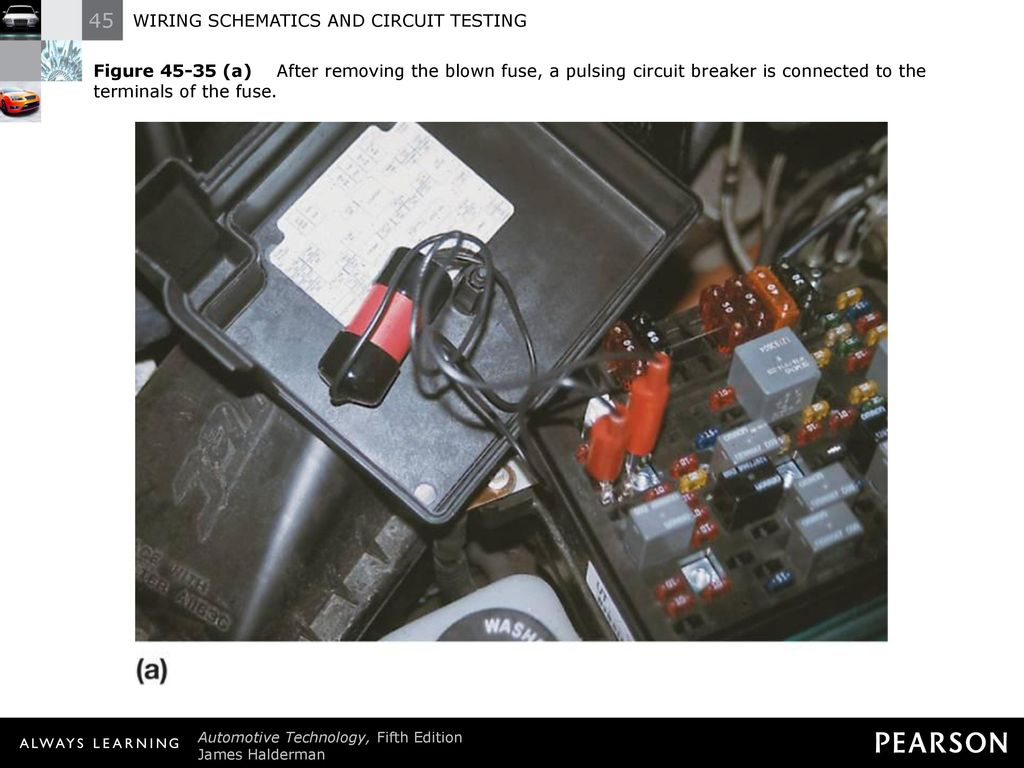 Wiring Schematics And Circuit Testing Ppt Download How To Replace A Blown Fuse 46 Figure After Removing The