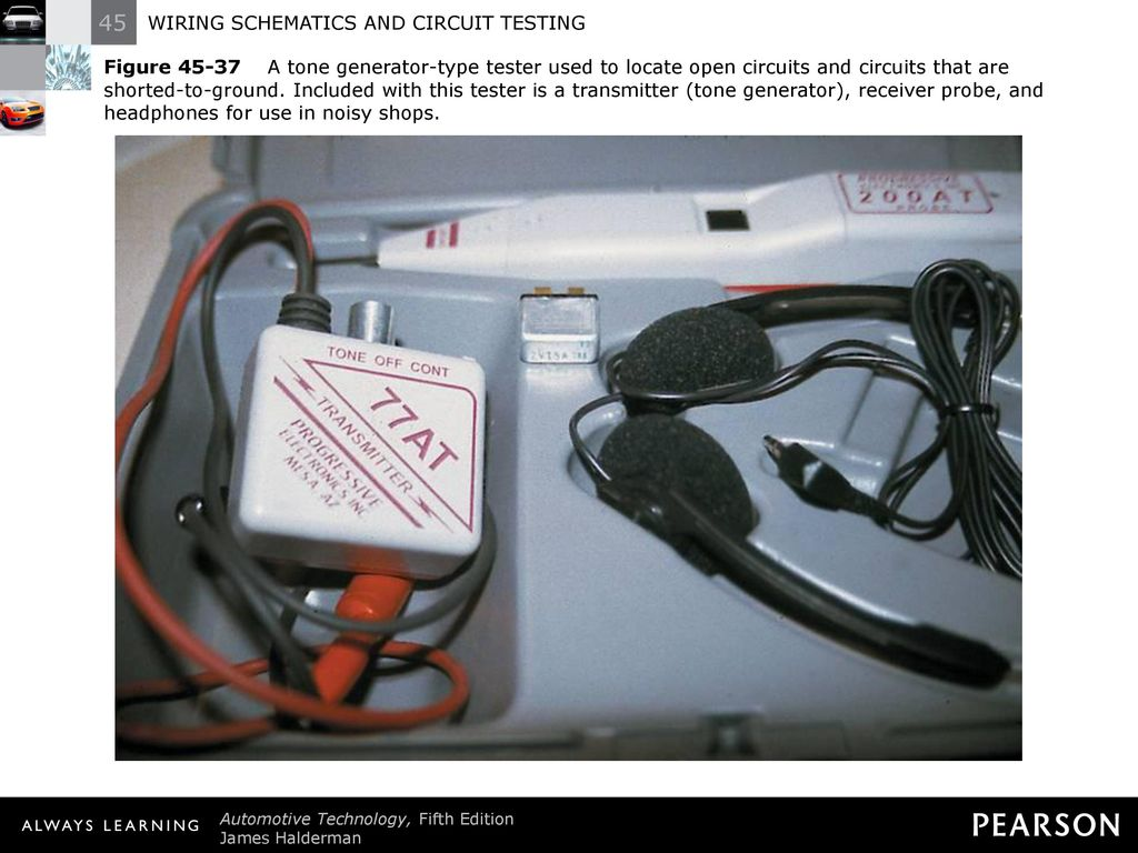 Wiring Schematics And Circuit Testing Ppt Download Tester 50 Figure