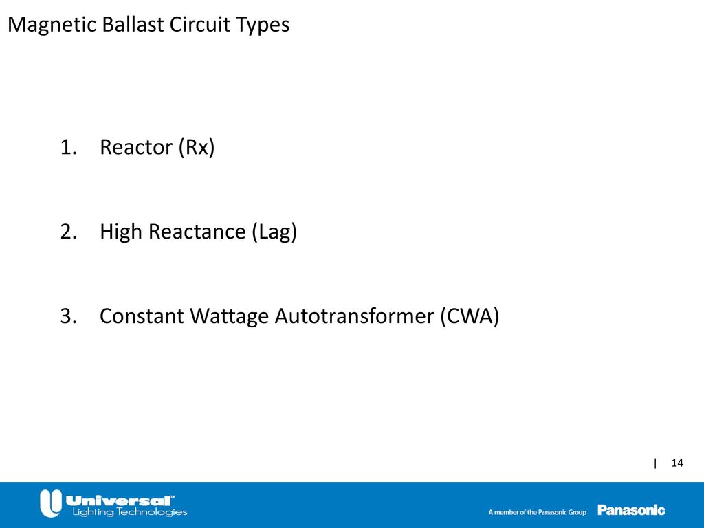 High Intensity Discharge Hid Ppt Video Online Download Circuittypes Magnetic Ballast Circuit Types