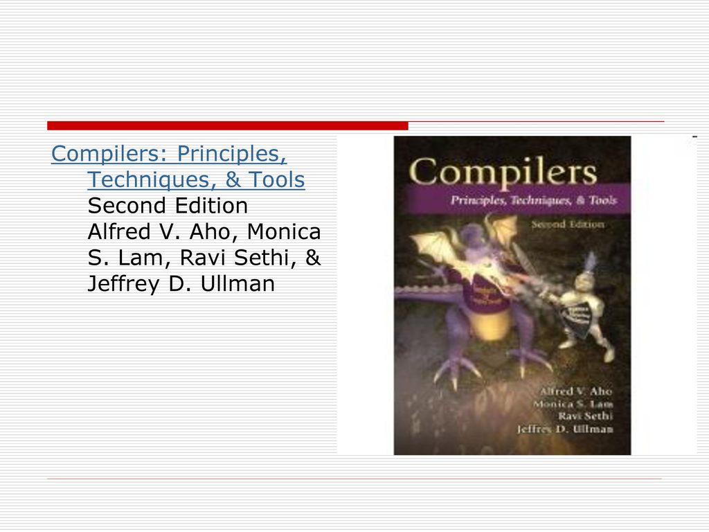 2 Compilers: Principles, Techniques, & Tools Second Edition ...