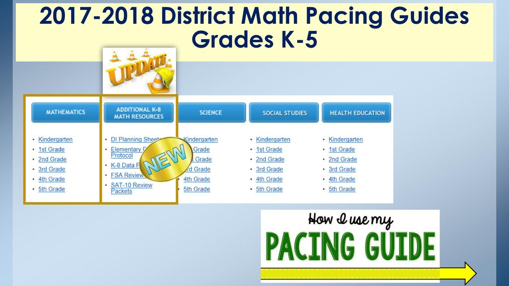 Florida pre k pacing guide array elementary mathematics essentials ppt download rh slideplayer com fandeluxe Image collections