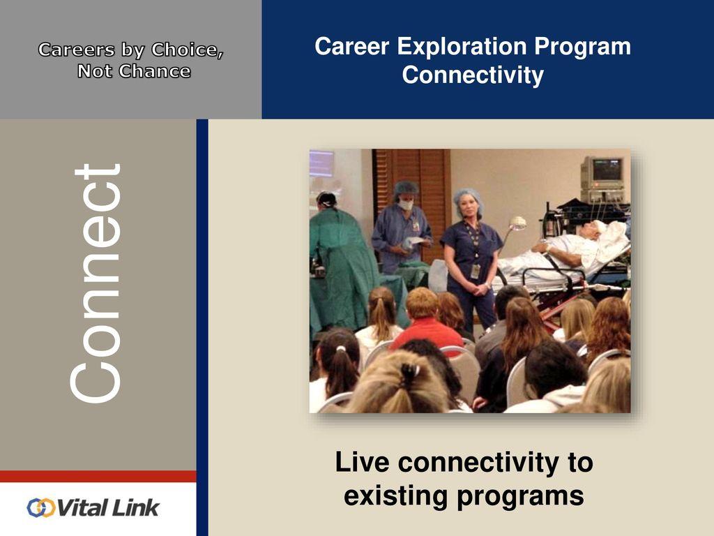 3ab30f08cb6 Career Exploration Program Connectivity