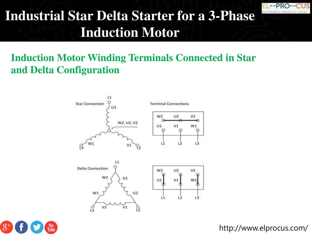 Automatischer 3 Phasen Induktions Motorstarter Wiring Diagram For Brook Crompton Motor Diagrams Three Phase Star Delta