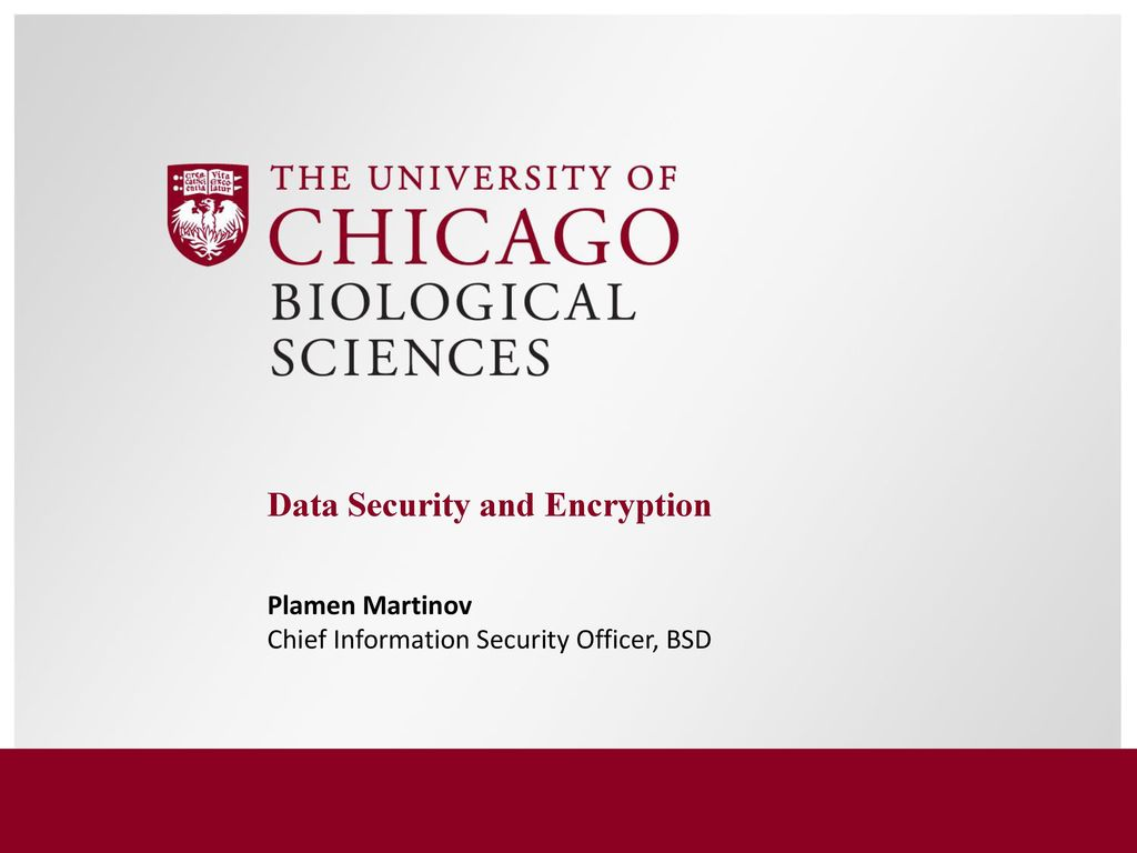 Data Security And Encryption Ppt Download