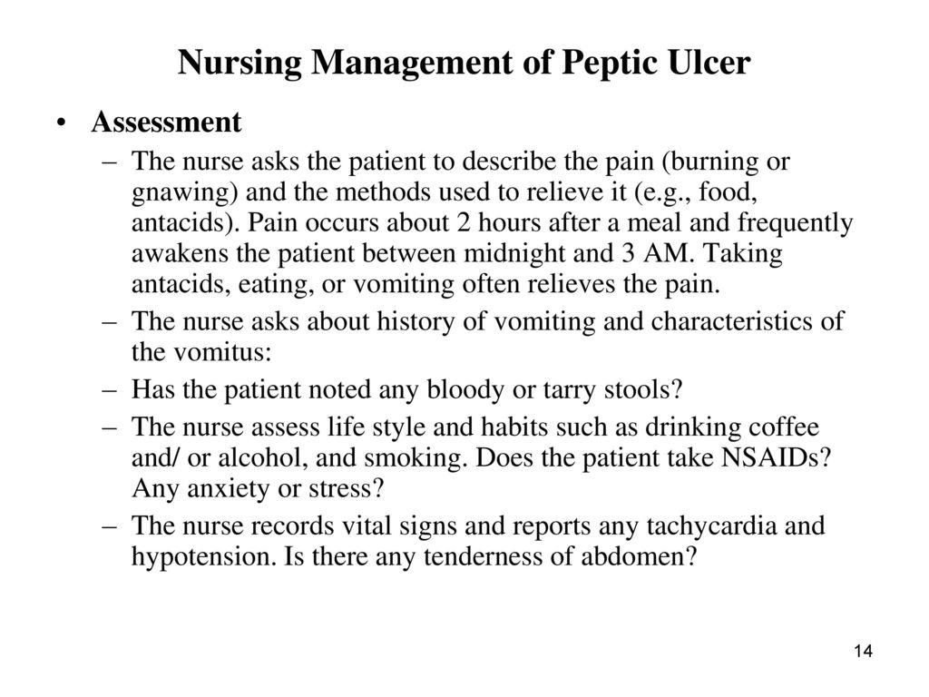 Peptic ulcer disease final.