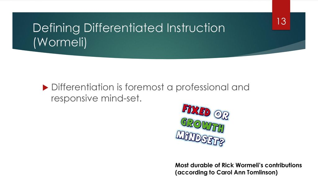 Why Differentiation Ppt Download