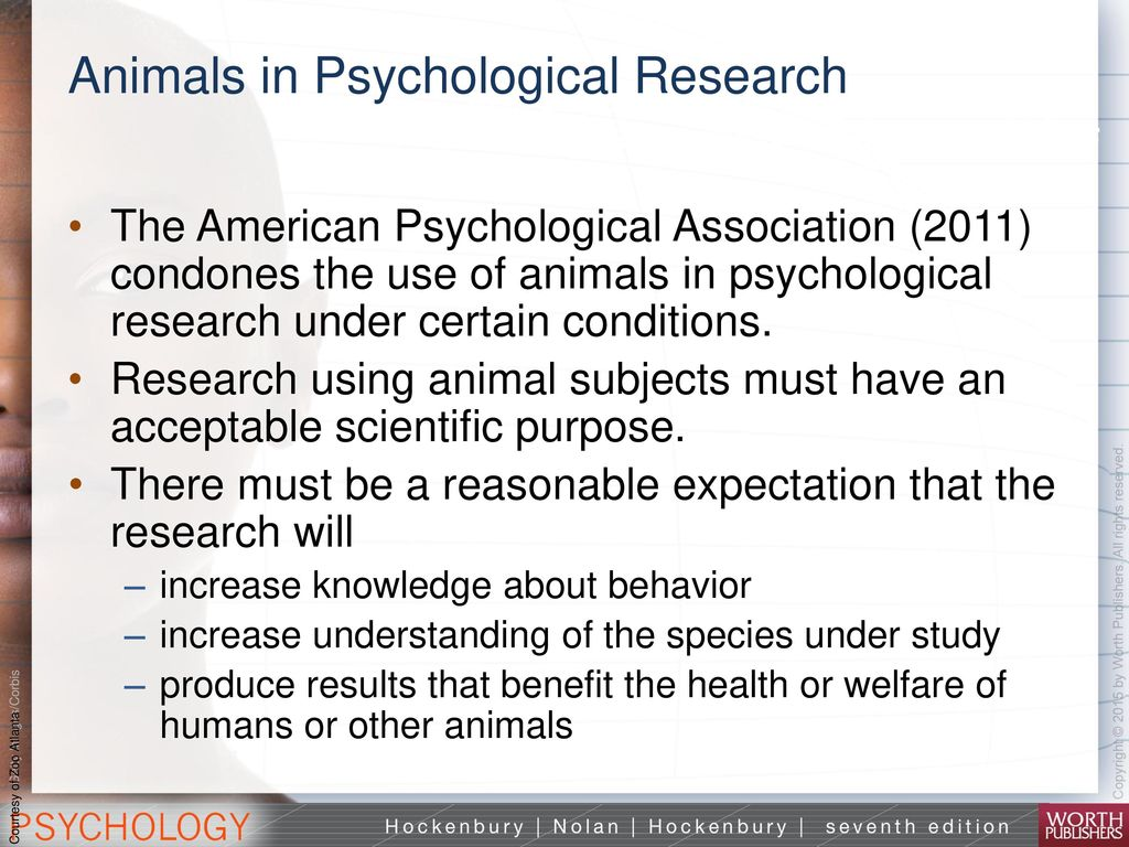 the use of invasive techniques and the sacrifice of animals in psychological research The use of animals for research and testing is only one of many investigative techniques available dr barnard believes that although animal experiments are sometimes intellectually attractive, they are poorly suited to addressing the urgent health problems of our era, such as cancer, heart disease.