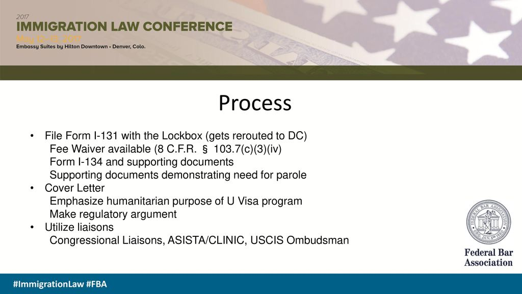 consular processing and parole - ppt download