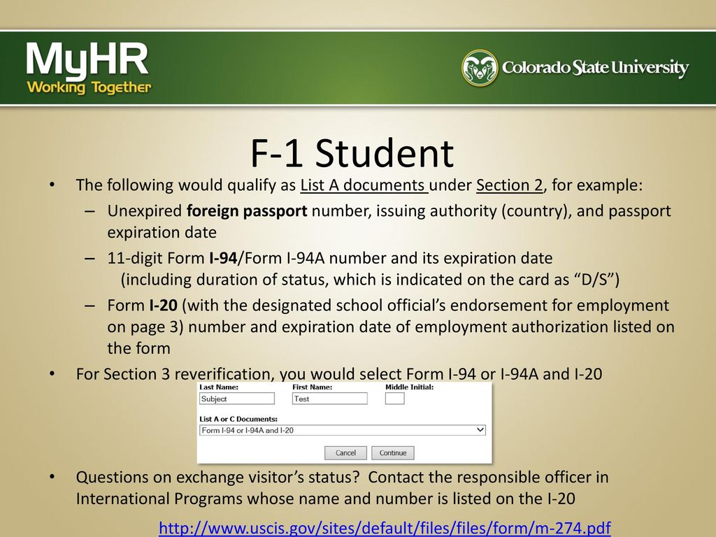 Completing The Form I 9 The Electronic Process Ppt Download