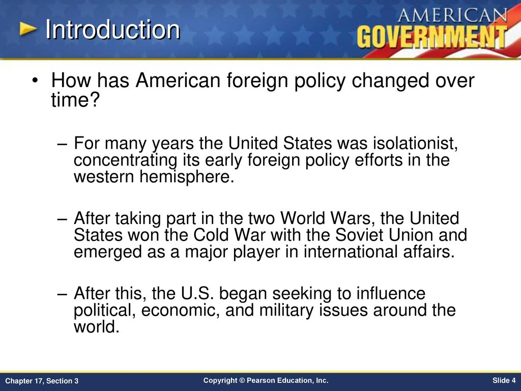 us foreign policy after cold war