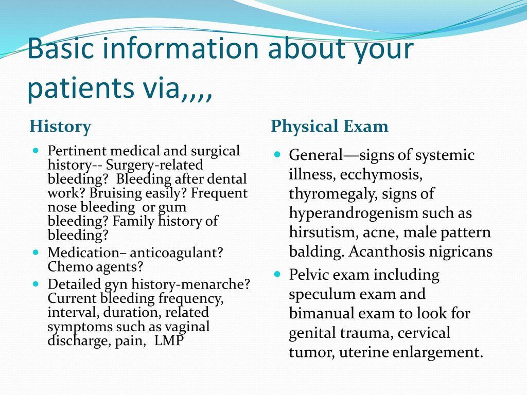 Management of Abnormal Uterine Bleeding - ppt video online
