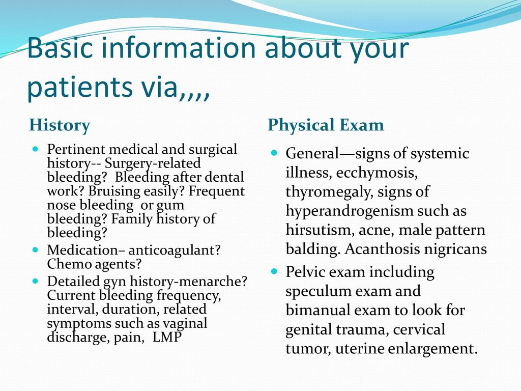Management of Abnormal Uterine Bleeding - ppt video online download