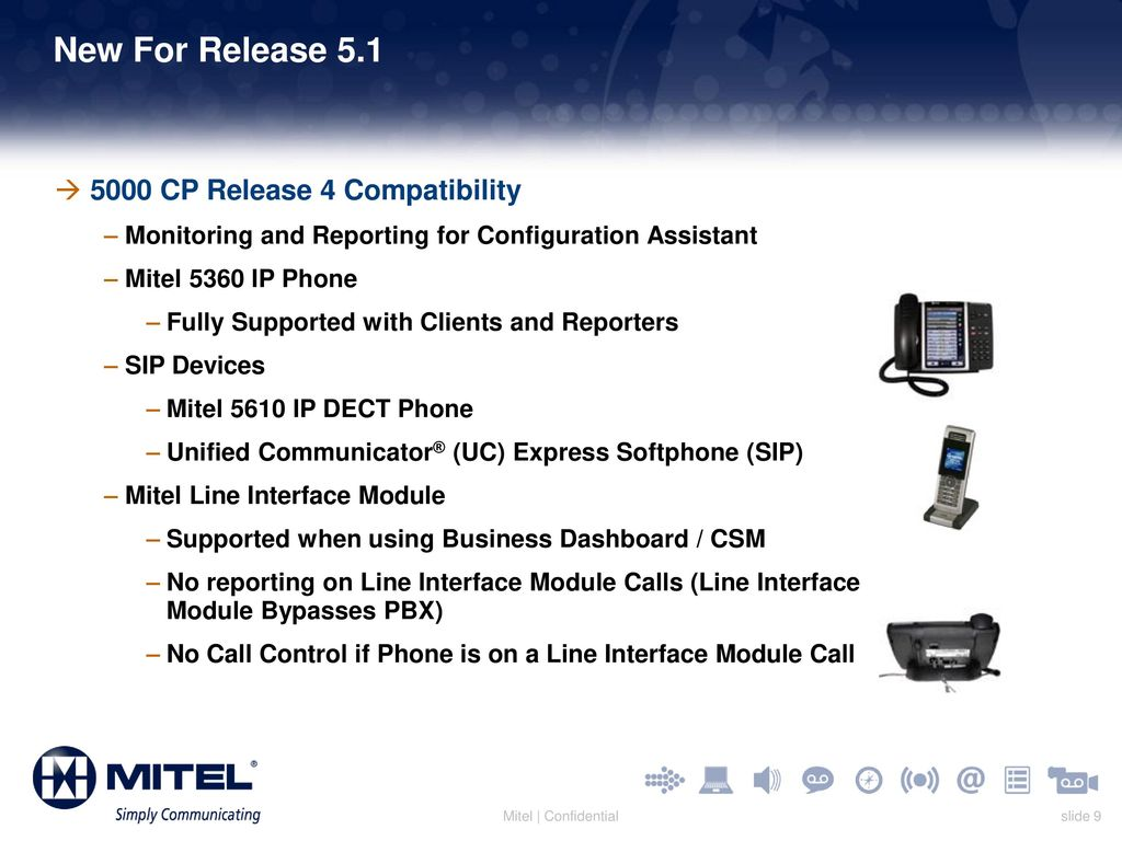 Mitel Business Dashboard and Mitel Customer Service Manager