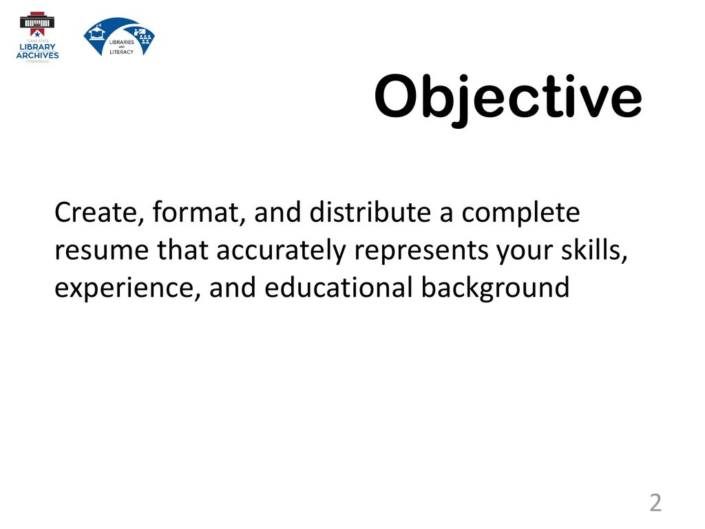 7.2 Resume Writing. - ppt download