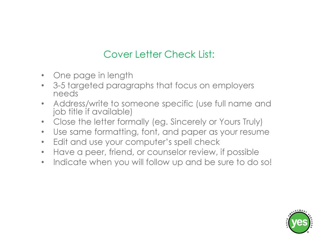 Cover Letters Resumes And Interviews Ppt Download