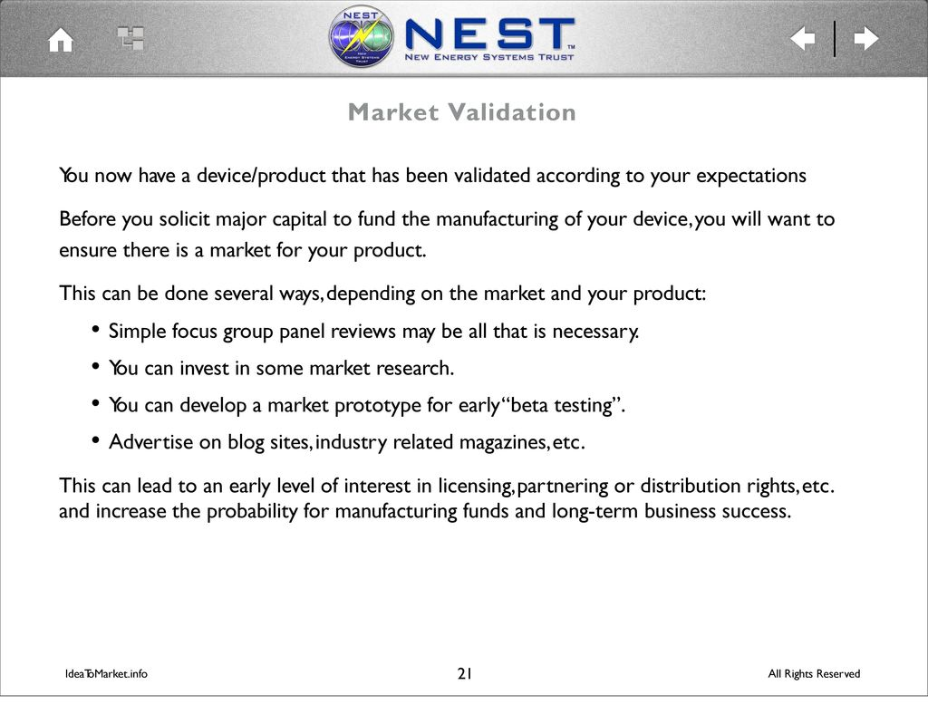 Market research sites for validating ideas