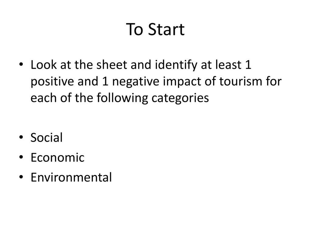 negative impacts of tourism in dubai