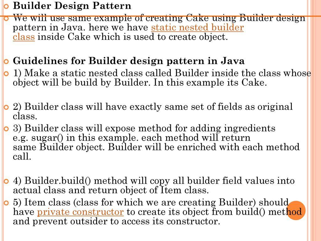 Design Patterns  - ppt download
