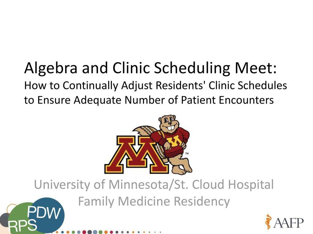University of Minnesota/St  Cloud Hospital Family Medicine Residency